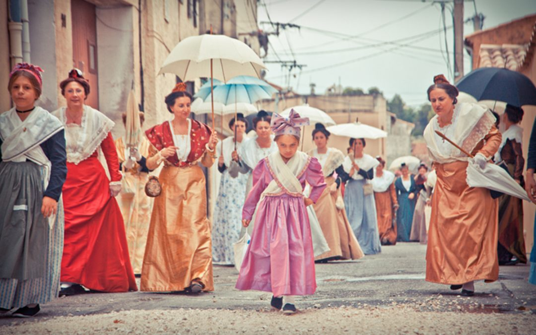 Fine Art – A French Festival Procession